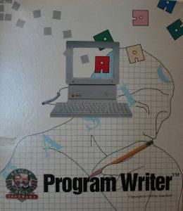 Program Writer box